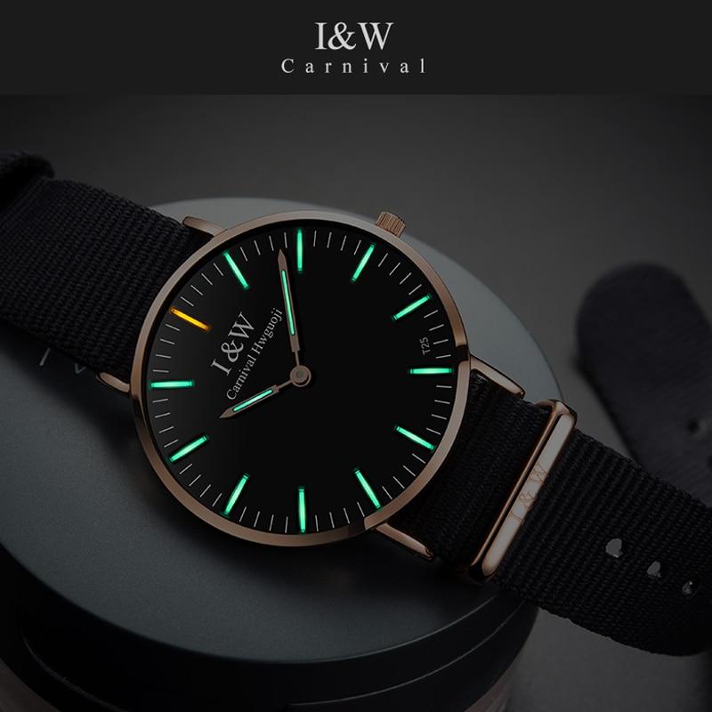 8 MM Simple Ultra-Thin Wrist Men Watches Luxury Tritium Clock Fashion Montre Femme 2019 Quartz Male Watch Relogio Feminino 2019