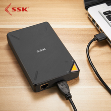 SSK SSM-F200 Tragbare Drahtlose WiFi Externe Festplatte 1 TB Cloud-Storage USB3.0 RJ45 300 Mbps App Steuerung Für SOHO arbeits
