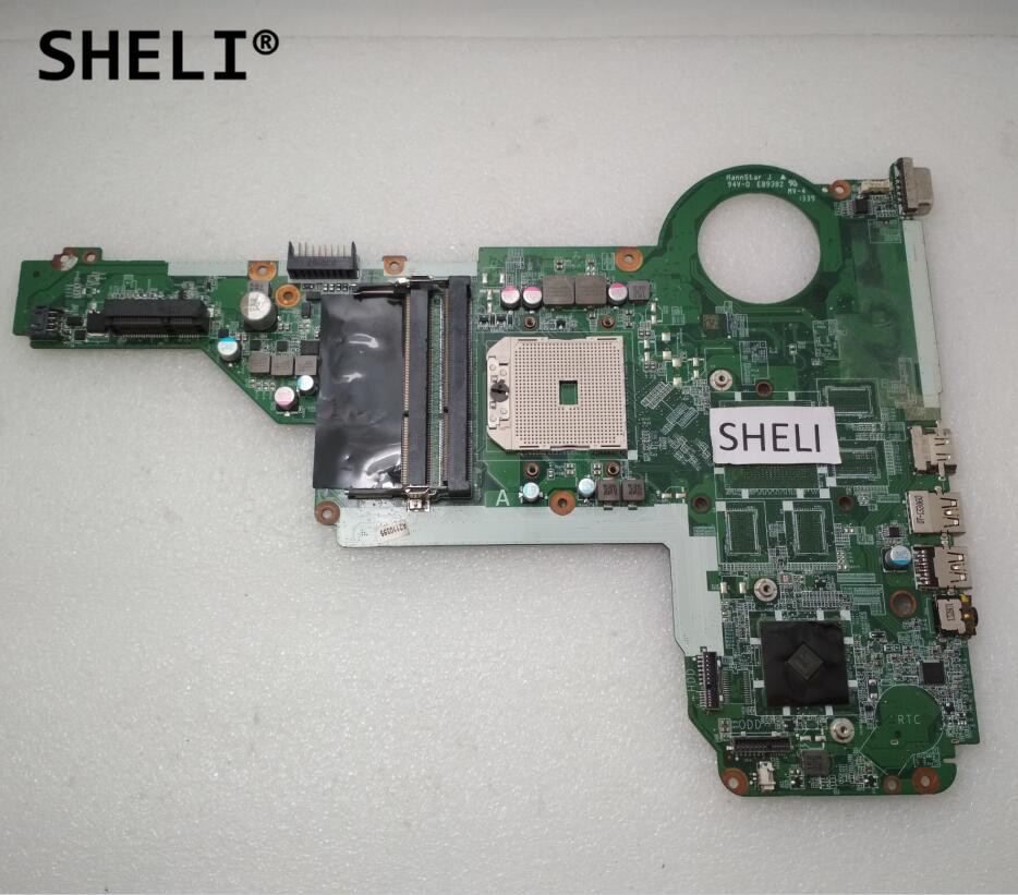 SHELI For HP 15-E 17-E Motherboard DA0R75MB6C1 720691-501 720691-001 744009 501 744009 001 for hp probook 640 g1 650 g1 motherboard socket 947 hm87 ddr3l tested working