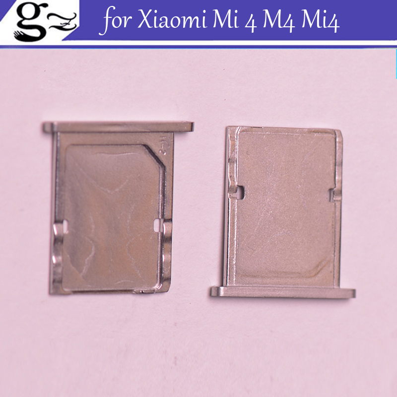 for Xiaomi Mi 4 M4 Mi4 SIM Card Tray Holder Slot Adapter Replacement Repair Parts Free Shipping;5/LOT
