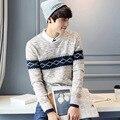 2016 мужская одежда осень одежды Отдыха свитер Моды пуловеры