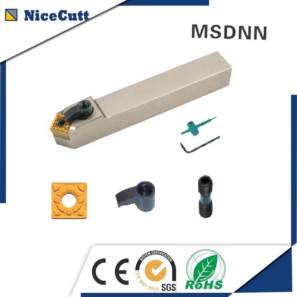 MSDNN1616H12 Nicecutt Externe Drehen Werkzeug Halter für SNMG einfügen Drehmaschine Werkzeug Halter