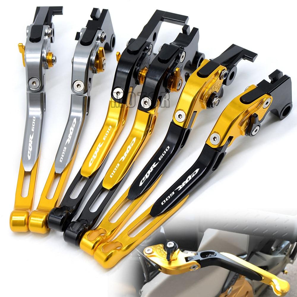 Motorcycle CNC Foldable Brake Clutch Levers For Honda CBR600F CBR600 F2 F3 F4 F4i CBR F4i