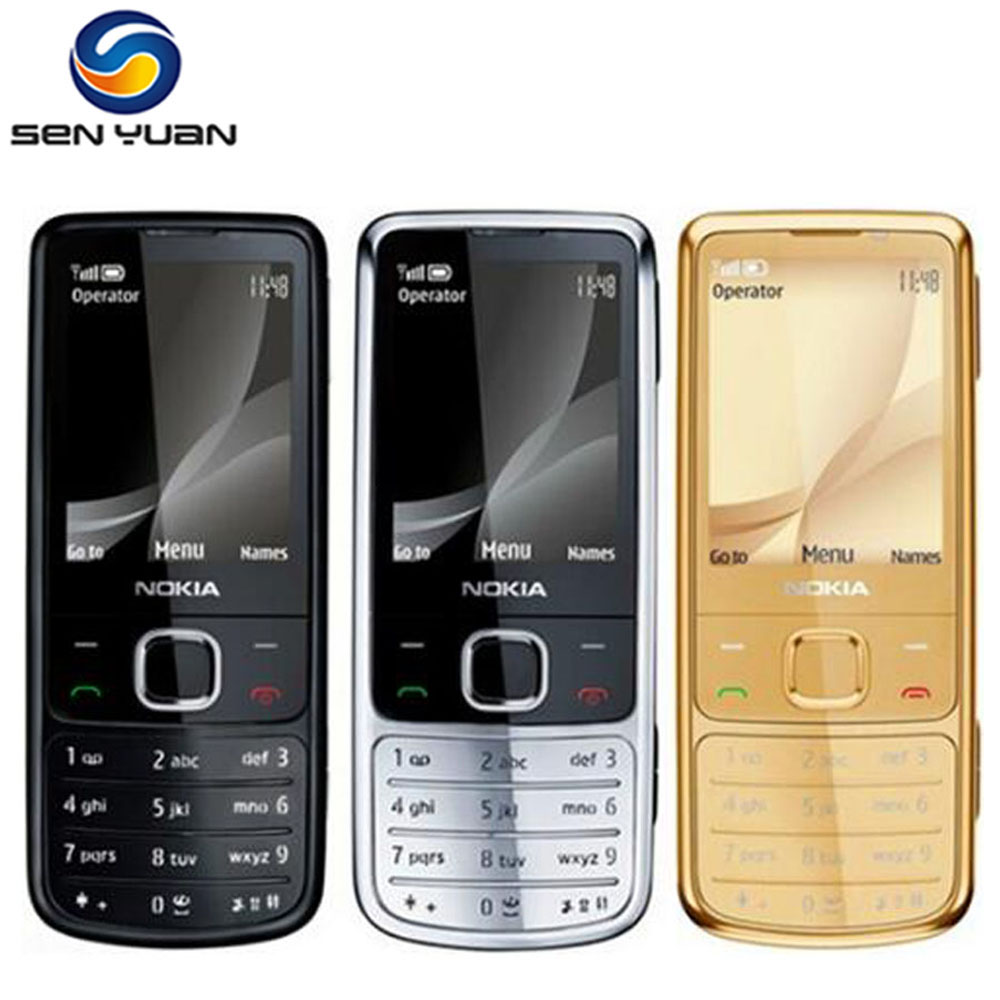 Original Unlocked Nokia 6700 Classic Cell Phone GPS 5MP 6700c English /Russian/Arabic Keyboard support(China)