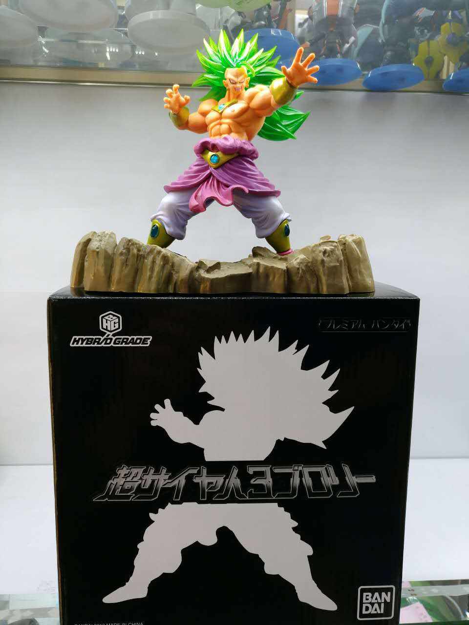 New arrival 17cm HYBRID GRADE Dragon Ball Z Super Saiyan 3 Broly Broli PVC Figure Collectible Model Toy dragon ball z broli 1 8 scale painted figure super saiyan 3 broli doll pvc action figure collectible model toy 17cm kt3195