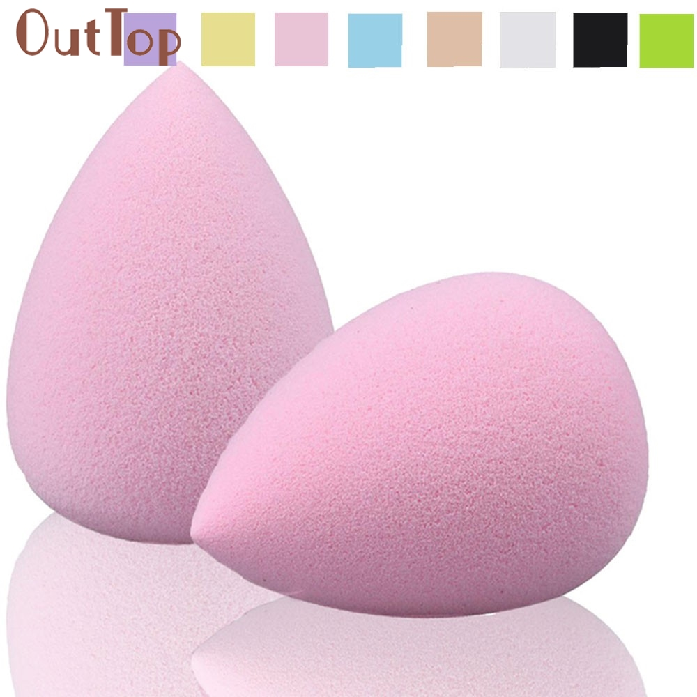 Graceful 2PC Water Droplets Soft Makeup Sponge Puff AUG11