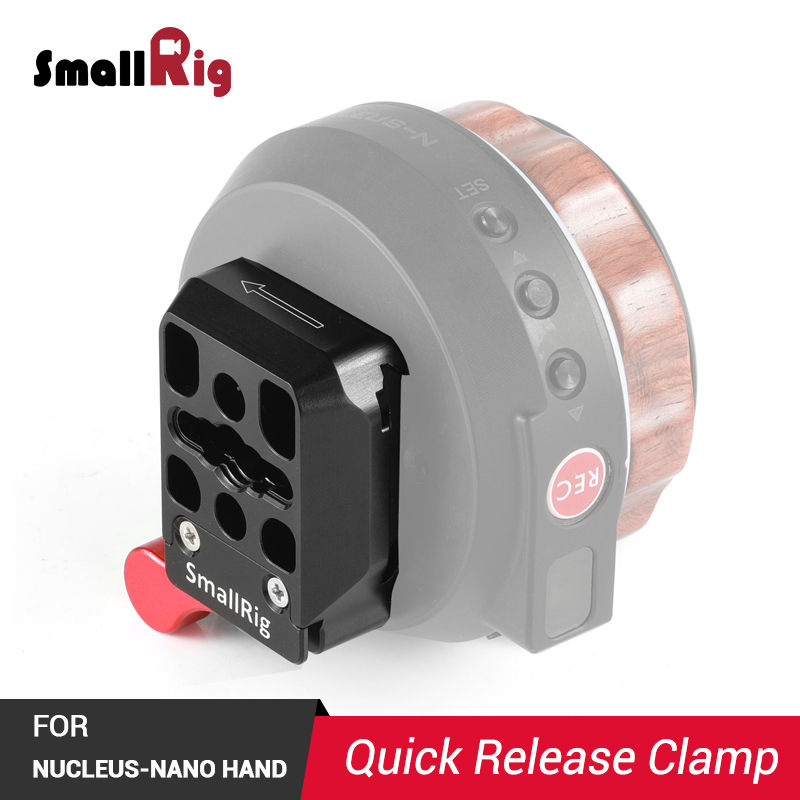 SmallRig Camera Quick Release Clamp for Nucleus Nano Hand Wheel Controller FAQ2323