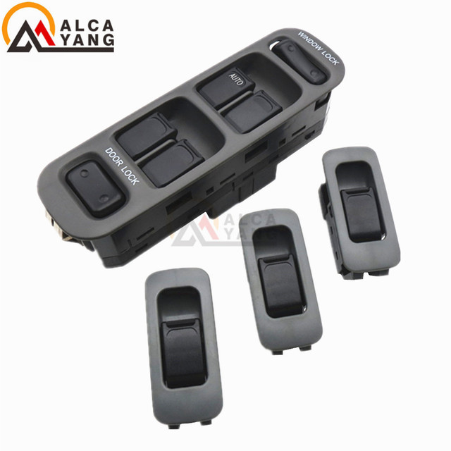 New Black Plastic 37990-65D10-T01 For SUZUKI BALENO Casement Glass Left Front Lift Power Switch High Quality Hot Selling