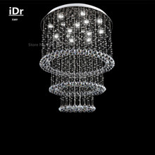 Buy lighting direct chandelier and get free shipping on aliexpress living room lights hanging wire crystal lamp hall chandeliers factory direct bedroom lamp hall luxury lamp mozeypictures Image collections