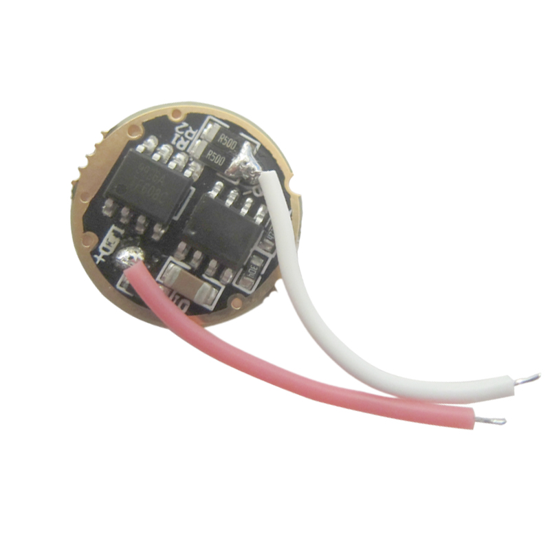 1 Stücke 10 W 5 Modus 16mm Basis Eingang 3,4 V ~ 4,2 V Ausgang 3 V 2.2a Led Fahrer Für Cree 10 W Xml Xm-l T6/l2/u2 Taschenlampe Chip Licht