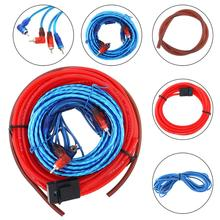 1 Set Car Audio Wire Wiring Kit Car Speaker Woofer Cables Line Car Power Amplifier Audio Line Power Line for Car Modification цена в Москве и Питере