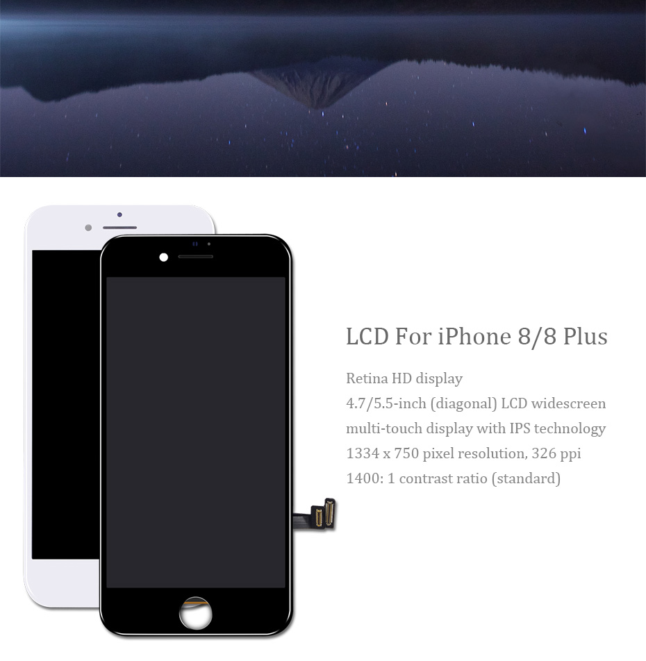IST 100% AAAA Original LCD For iPhone 8 Plus LCD Replacement Quality Display Touch Digitizer 8 Plus Screen Tool Kits Screen LCDS (3)
