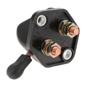 Image 4 - 12 V 24 V Waterdichte Keyless Batterij Isolator Cut Off Switch Auto Batterij Bescherming Schakelaar Voor Auto Marine boot Black