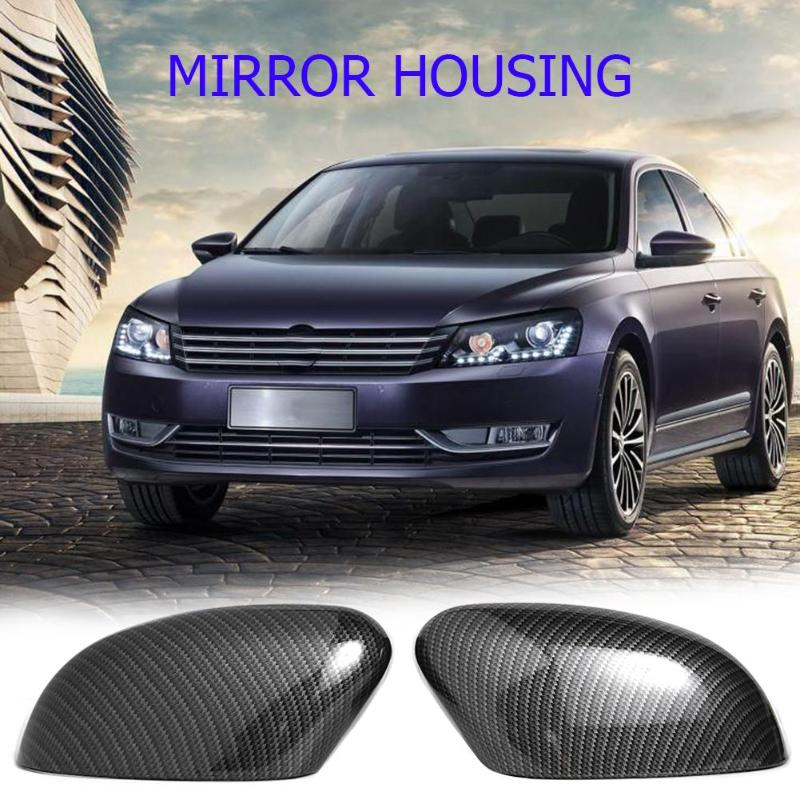 2pcs Auto Car Side Rear View <font><b>Mirror</b></font> Cover Trim Caps Replacement for <font><b>Ford</b></font> <font><b>Focus</b></font> MK2/<font><b>MK3</b></font> Sedan Turnier Hatchback image
