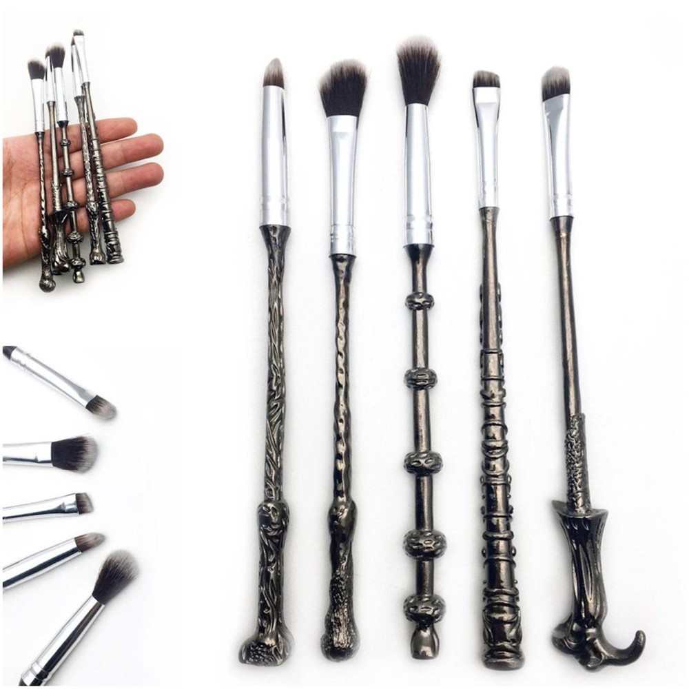 5pcs-Harry-Potter-Theme-Magic-Makeup-Brushes (1)