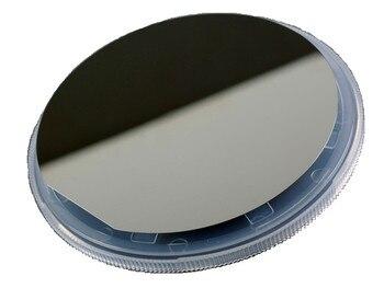 Oblea de silicio monocristalino pulido de una sola cara de 4 pulgadas/resistividad 1-10 Ohm por centímetro/espesor de 240um