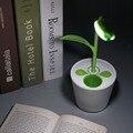 NOVO USB Olho-cuidado Anti-reflexo Led Desk Lamp Crianças Touch-sensitive Dimmable 3 Nível Com Suporte da pena