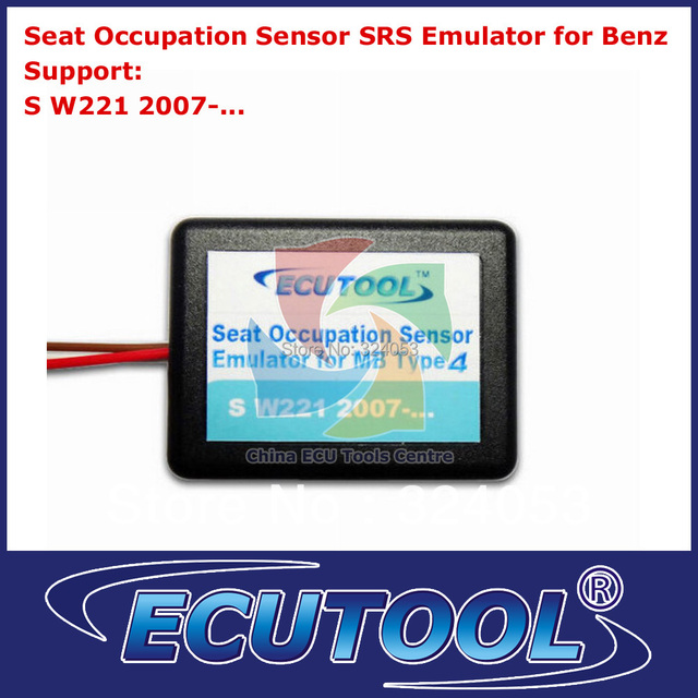 Wholesale 2pcs/lot Seat Occupancy Occupation Sensor SRS Emulator for Mercedes Benz W221 Airbag Sensor Repair Tool Type 4