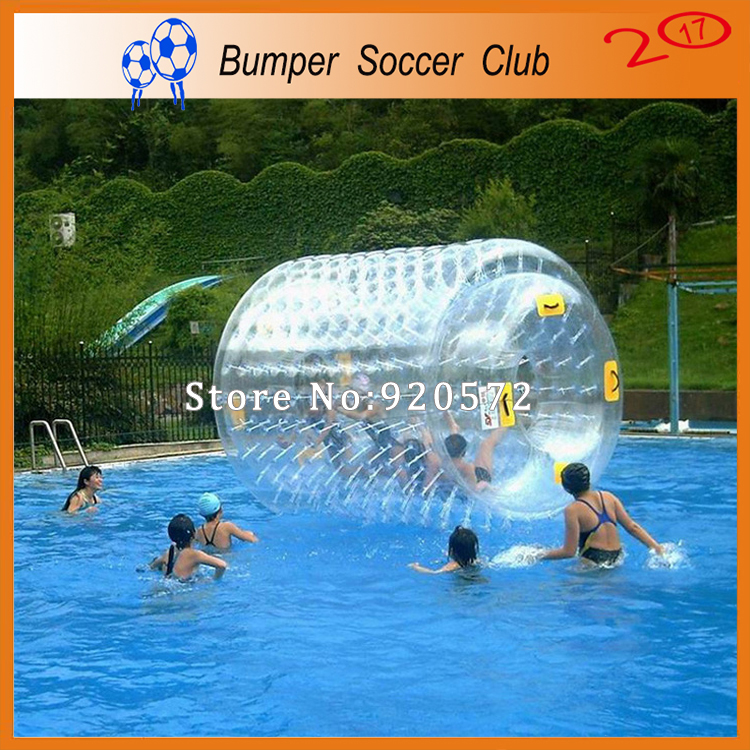 Free shipping ! Factory price ! 0.8mm TPU Walk On Water Roller Inflatable Water Roller Ball For Sale free shipping inflatable water wheel pool inflatable water roller water roller ball inflatable water balls