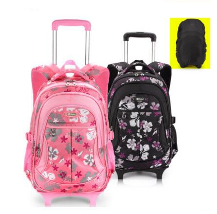 School Rolling backpacks for girls wheeled backpack Trolley School backpacks Children luggage bag wheels kids Trolley RucksackSchool Rolling backpacks for girls wheeled backpack Trolley School backpacks Children luggage bag wheels kids Trolley Rucksack