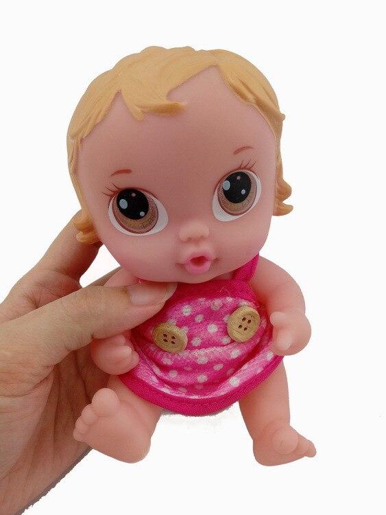 7inches Reborn Baby Doll Flyttbara Lämnar Mjuk Vinyl Silikon Livlig - Dockor och tillbehör - Foto 2