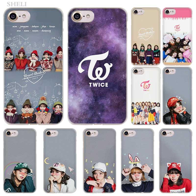 PlusTwice Mina Momo Kpop Fashion Transparent Case Cover For IPhone XI R 2019 XS Max XR X 4s 5s SE 6 6s 7 8 Plus