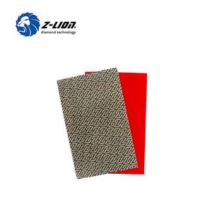 Image 4 - Z LION 2 Blätter Diamant Schleifpapier Galvani Polieren Blatt Abrasive Schleifpapier Grit 60 120 200 400 Ersatz Schleif
