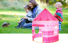 2 Colors children's tent Portable Foldable Play TentKids Castle Cubby Play House Outdoor Toy Tents for baby gifts