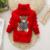 2016 Muchachos de Los Bebés jumper Otoño Invierno Suéteres de Dibujos Animados Niños Niños Suéter de Punto prendas de Vestir Exteriores Caliente Babi Jersey de Cuello Alto
