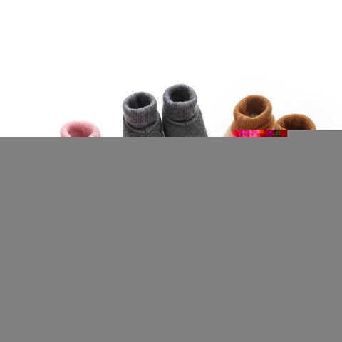 Toddler Shoes Newborn Knitted Flock Warm Pre-walker Shoes Baby Shoes New Winter Infant Soft Soled First Walkers 0-18M A Lahore