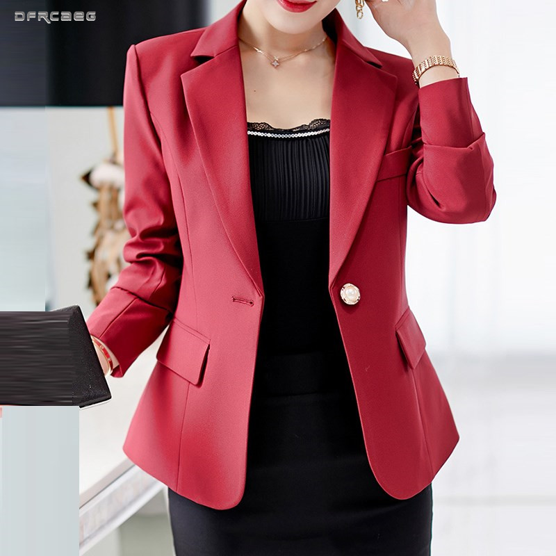 Suits & Sets Latest Collection Of Blue Gray Womens Blazer Suit Work Wear 2019 Casual Long Sleeve Blazers Lady One Button Office Jacket Female Blaser Outwear Structural Disabilities Back To Search Resultswomen's Clothing
