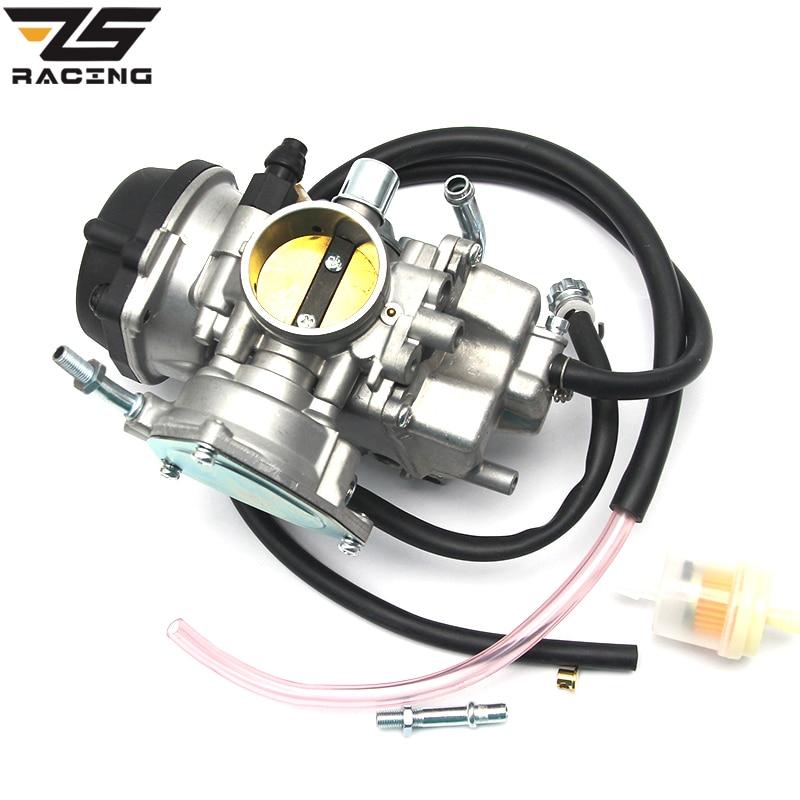 ZS Racing Motorcycle 36mm PD36J Carburetor ATV UTV 350CC 400CC 500CC Carb For Suzuki LTZ400 Quad Carb 2003-2007 цена