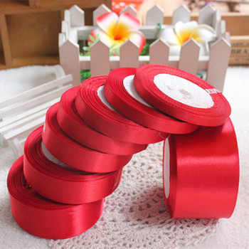 Description Wedding Party 25 Yards Craft Satin Ribbon They work great for gift packaging wedding favors cand image