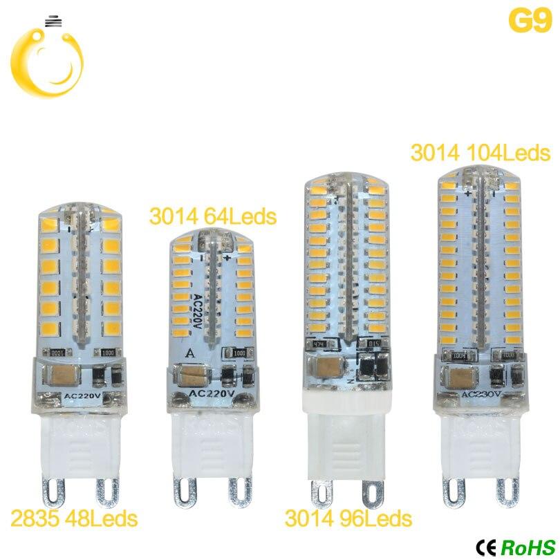Led Bulbs & Tubes 1pcs/lot Hight Power G9 Led Car Lamp Ac220v 2835 3014 7w 9w 10w 12w Led Replace 20-40w Halogen Lamps Light Bulbs