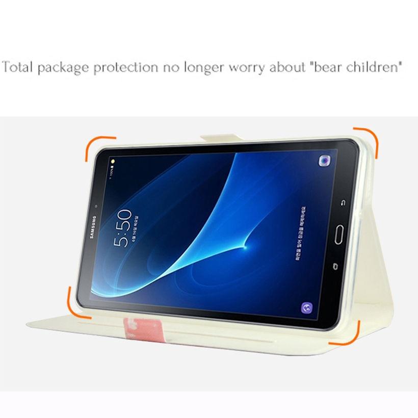 Funda de cuero de moda para Samsung Galaxy Tab A6 7.0 T280 T285 - Accesorios para tablets - foto 6