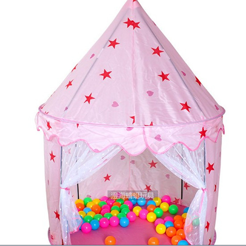 Children s Tents Princess Castle Tent Game Room Children s Toys Baby Tent Play House ...