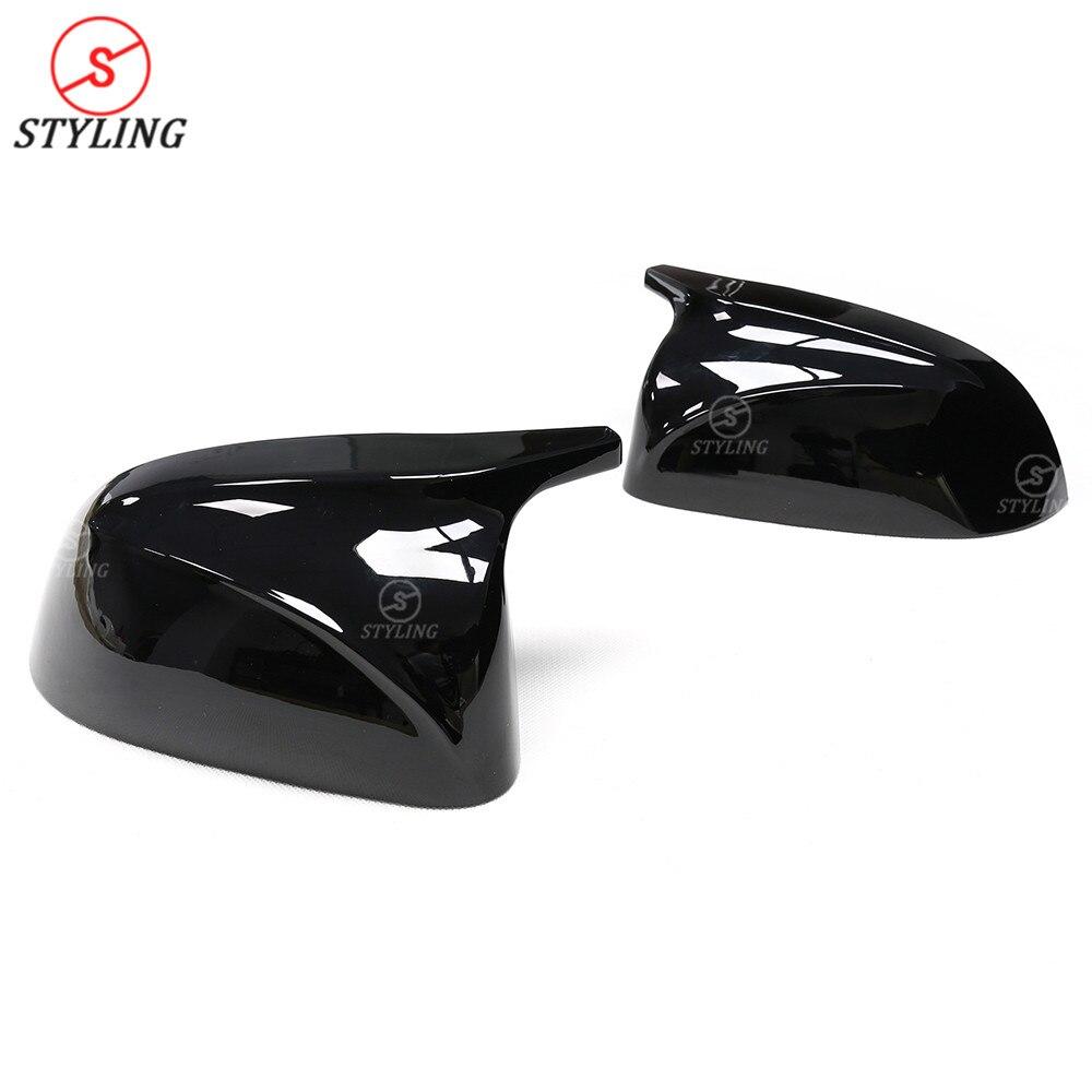 X5 G05 M вид тип зеркала крышка для BMW X3 G01 X4 G02 глянцевый черный и белый боковые заднего вида зеркальные колпачки замена крышки 2018 2019 - 5