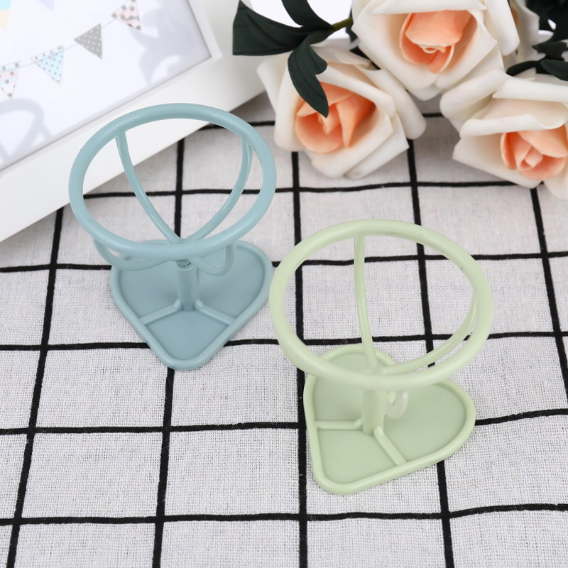 Lovely 1pc New 4 Color Makeup Sponge Gourd Powder Puff Rack Powder Puff Bracket Box Dryer Organizer Beauty Shelf Holder Tool Beauty Essentials