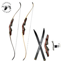 60/62inch Archery Recurve Bow Draw weight 30 60lbs/20 50lbs Right Hand Takedown Bow For Outdoor Hunting Shooting Accessories