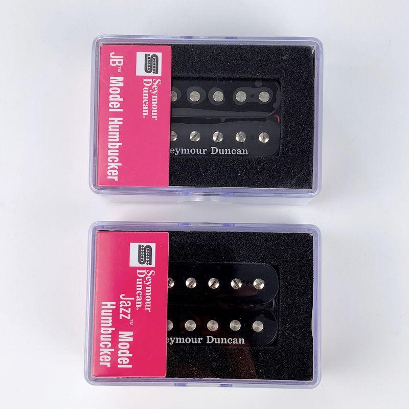 Image 3 - Seymour Duncan col et pont Humbucker pick up noir nouveau-in Pièces et accessoires de guitare from Sports et Loisirs on AliExpress