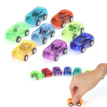 Subcluster 6 Pcs Pull Back Car Toys Car Baby Mini Cars Cartoon Pull Back Car Kids Toys For Children Boy Gifts 4 pcs alloy pull back car toys car children racing car baby mini cars cartoon pull back bus truck kids toys for children boy gif