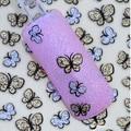 Серебро Золото Bling Бабочки Дизайнер Переноса Воды Наклейки Штук 3D Ногтей Гелем Наклейки Красоты Ногтей Украшения 1648575
