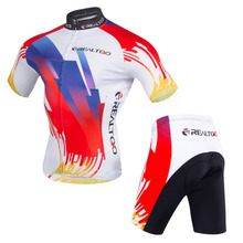 2018 Pro Men Cycling Jersey Set Breathable Mountain Bike Clothing MTB Bicycle Clothes Wear Maillot Ropa Ciclismo Men Cycling Set