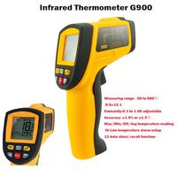 Hot For Thermostat Thermal Camera Offer Precise Non contact Digital Ir Infrared Thermometer 50 To 900 Degree Laser Gun Gm900