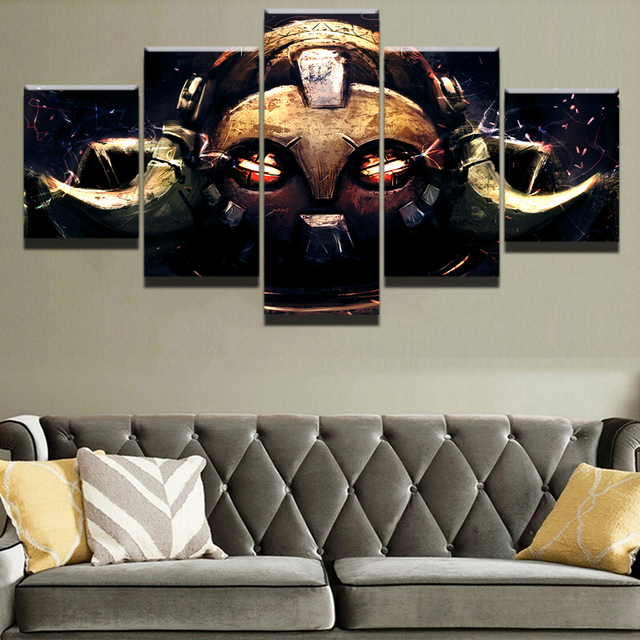 5 Pieces Game Poster Wall Art Orisa Overwatch Picture Modern Home Decoration Living Room Or Bedroom Canvas Printed Painting 2