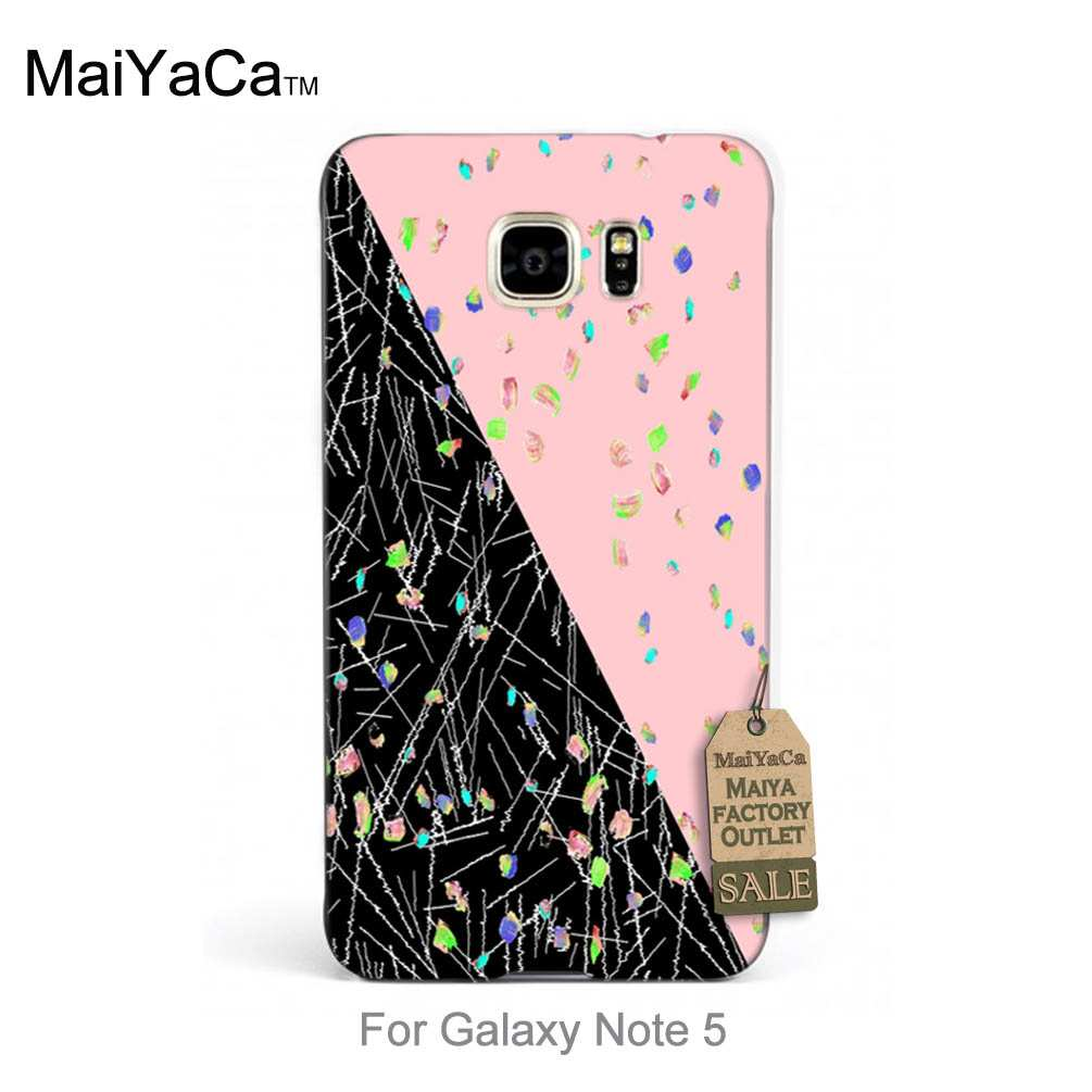 Hot Printed Cool phone Accessories Geo Study sequins For case note5