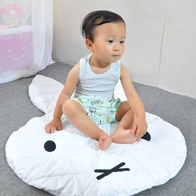 Mais barato coelho bonito das crianças pequenas tapeçarias tapetes de jogo esteira do jogo do bebê engatinhando tapete Jogo Mat Game Pad Tapete T514