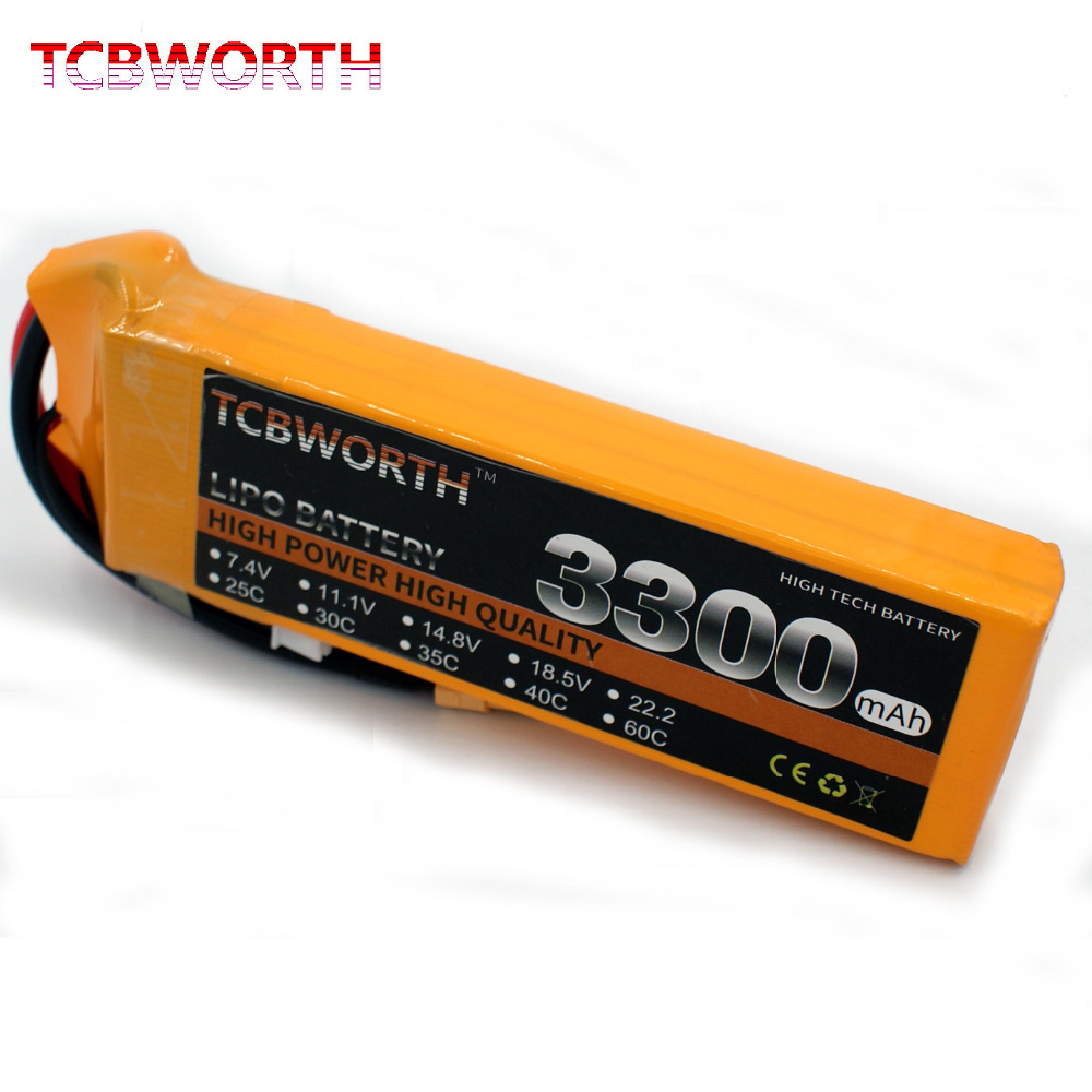 TCBWORTH 11.1V 3300mAh 60C-120C 3S RC LiPo battery For RC Airplane Helicopter Quadrotor Drone Car boat Truck Li-ion battery tcbworth 11 1v 3300mah 60c 120c 3s rc lipo battery for rc airplane helicopter quadrotor drone car boat truck li ion battery