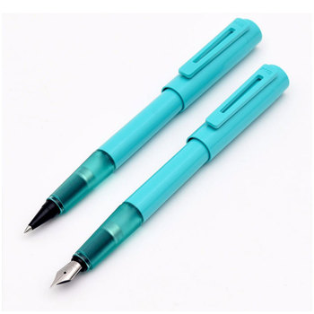 Kaco Sky EF Fountain Pen + Fine Point 0.5mm Rollerball Pen with Ink Gift Stationery Set Luxury Business Office Writing Pens