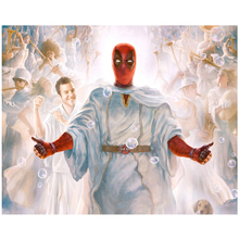 Diamond Embroidery Full square Round Marvel Deadpool pictures by number 5D Diy diamond painting mosaic home decorZP-2012